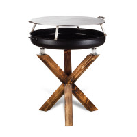 Barbecue Ruggero Completo di piastra acciaio inox