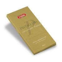 """cioccolato Bianco """"Pistacchio"""" - note aromatiche - Indal 60 gr"""