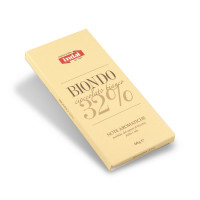 """cioccolato Bianco """"Biondo"""" 32%- note aromatiche - Indal 60 gr"""