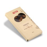 cioccolato fondente con mandorle intere Indal 100 gr
