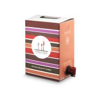 Vino Rosso Merlot IGP Dolomiti Bag in box 3 litri