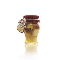 FUNGHI PORCINI TESTA ROSSA IN OLIO OLIVA -ANFORA 200 gr